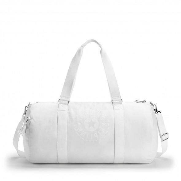 Kipling Σακ Βουαγιάζ Onalo L Lively White