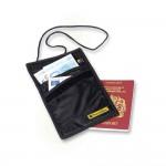 Travel Blue Τσαντάκι λαιμού ασφαλείας μαύρο