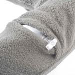 Travel Blue Μαξιλάρι αυχένα φουσκωτό με επένδυση Fleece