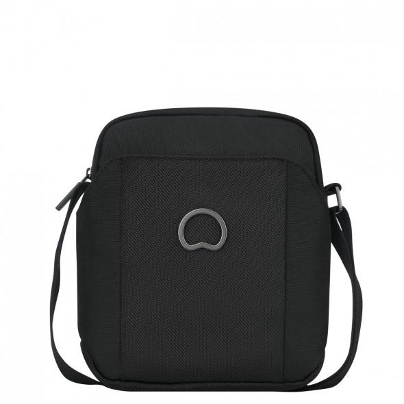 Delsey Ανδρικό τσαντάκι ώμου κάθετο 21,5x18x6cm σειρά Picpus Black