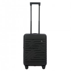 B|Y. Be Young. Be Bric's. Βαλίτσα trolley καμπίνας expandable 37x55x23/27cm σειρά Ulisse Black