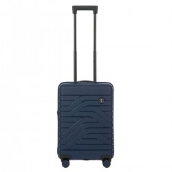 B|Y. Be Young. Be Bric's. Βαλίτσα trolley καμπίνας expandable 37x55x23/27cm σειρά Ulisse Ocean Blue
