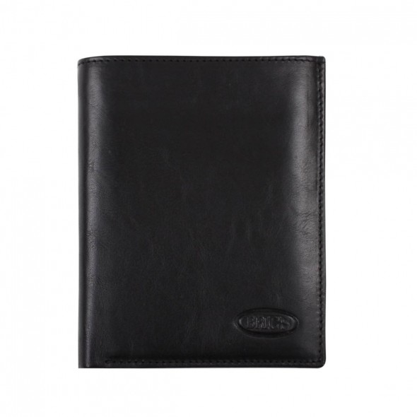 Brics ανδρικό πορτοφόλι RFID 12,5x9,5cm Black