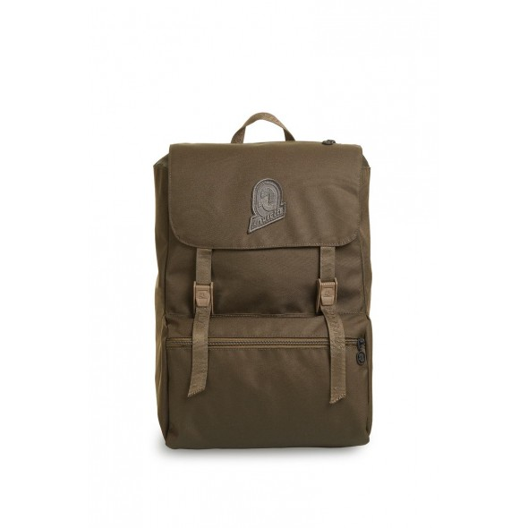 Invicta σακίδιο πλάτης 28x38x20cm σειρά Jolly Solid Recycled Military Green