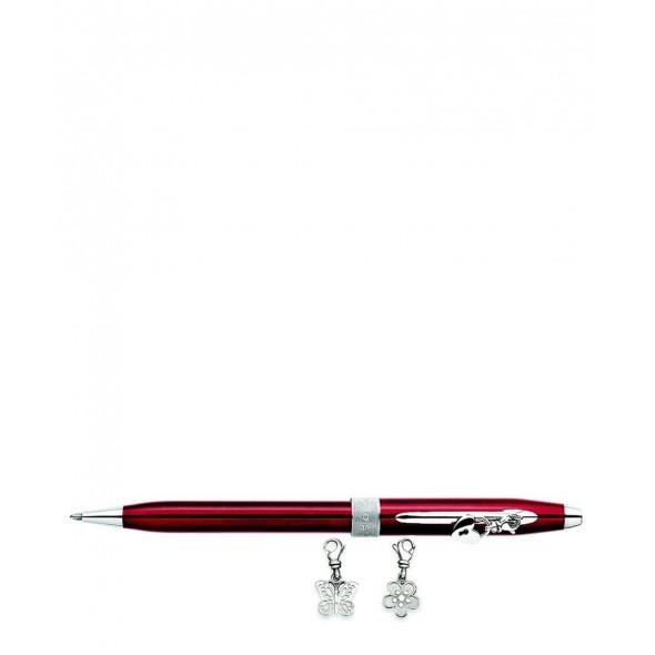 Cross Στυλό Ballpoint Laquer 3 Μπρελόκ Κόκκινο