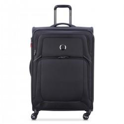 Delsey Βαλίτσα μεσαία expandable70.5x46x30/31cm σειρά Optimax Black